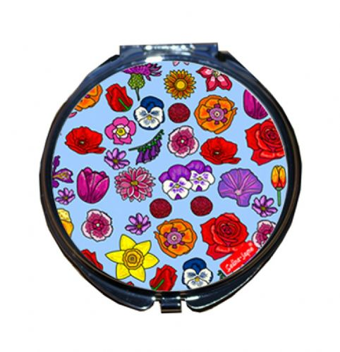 Selina-Jayne English Flowers Limited Edition Compact Mirror